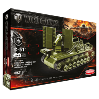 "Конструктор ""World of Tanks. C - 51"", 242 детали"